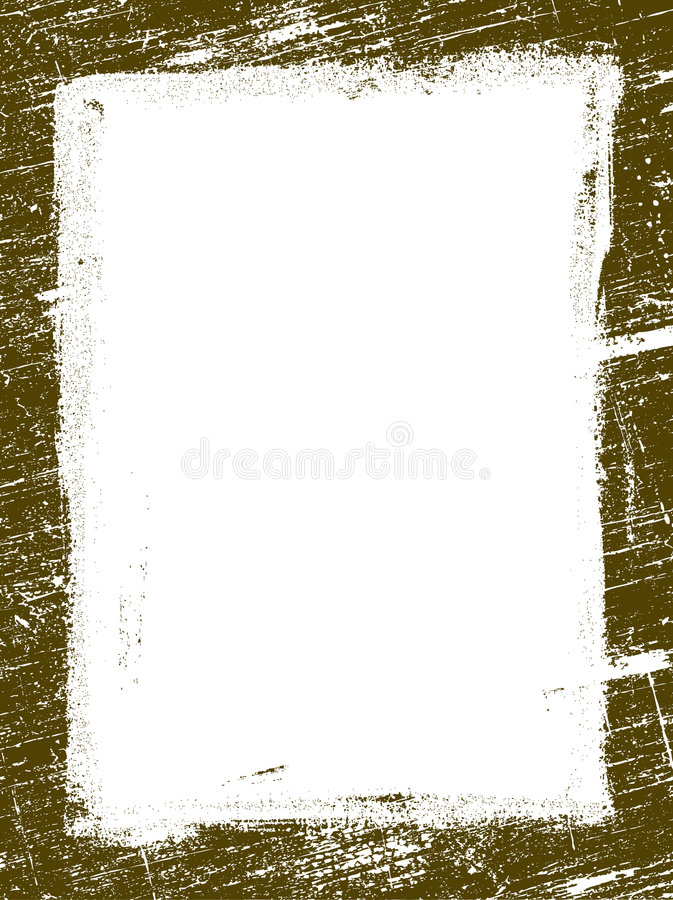 Grunged border 15 royalty free stock photography