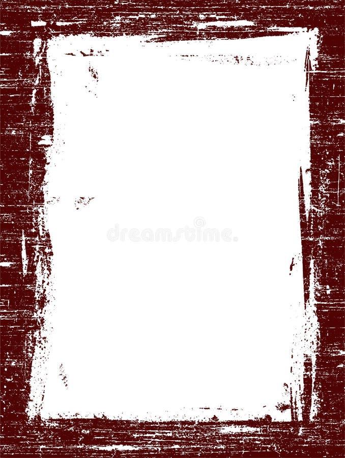 Grunged-Grenze 3 stockbilder