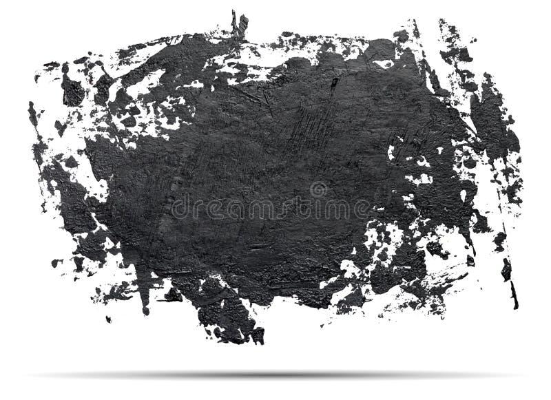 Grungefärgstänkbaner stock illustrationer