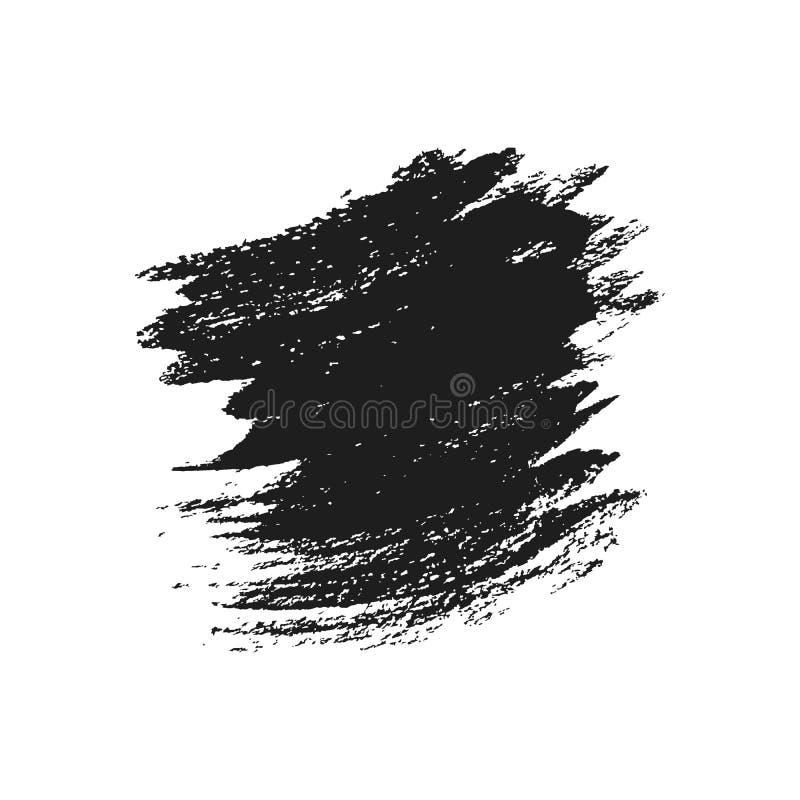 Grungekwaststreek, Vectorontwerpelement Geïsoleerdj op witte achtergrond vector illustratie