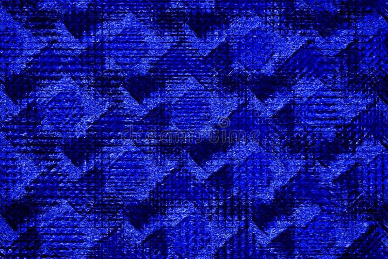 Grungemörker - abstrakt backgroun för blå textur stock illustrationer