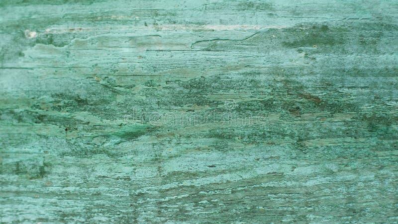 Grungemuur met barsten en schilverf Geweven Achtergrond Oude Houten Textuur royalty-vrije stock afbeeldingen