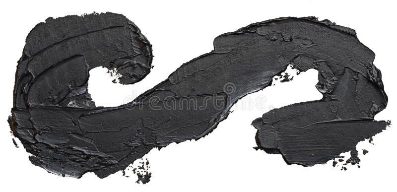 Grungeoändlighetssymbol Dragen hand för oljamålning stock illustrationer