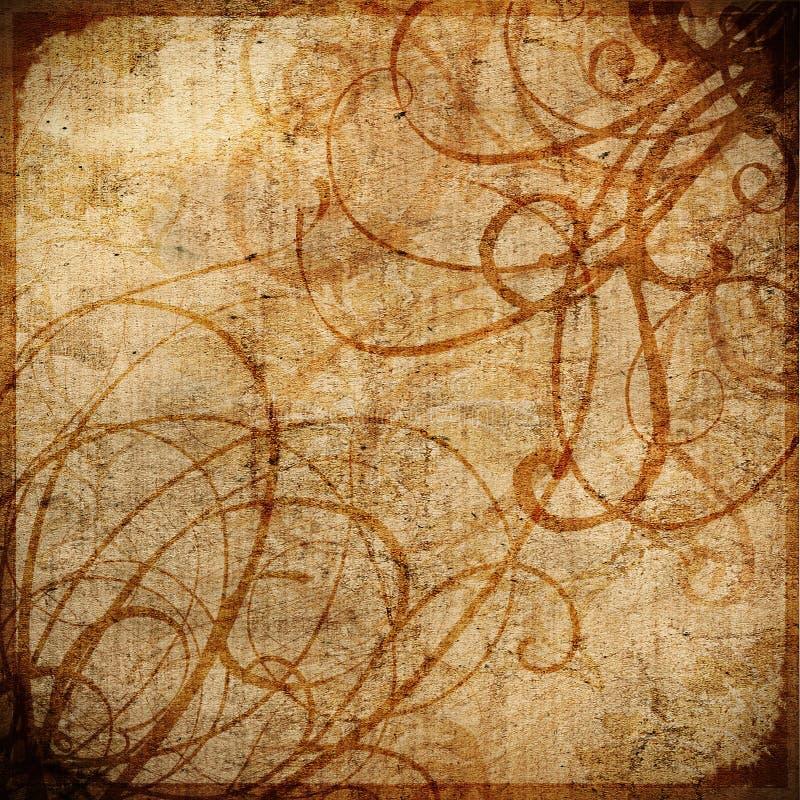 grungeswirls vektor illustrationer