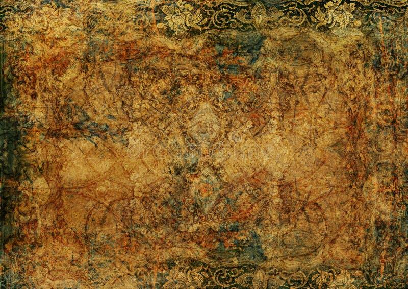 Grungetappningbakgrund royaltyfri illustrationer