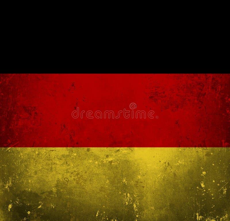 Grungevlag van Duitsland royalty-vrije illustratie