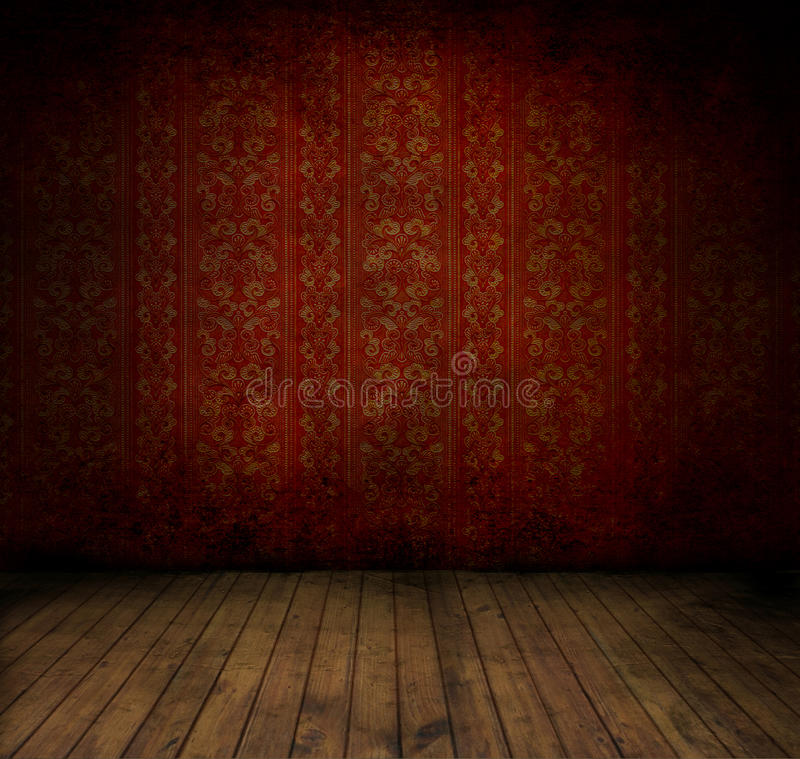 Grungey Raum lizenzfreie stockfotos