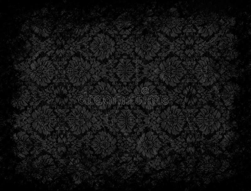 Grungey wallpaper royalty free illustration