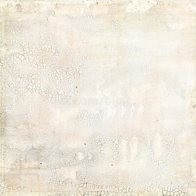 Grungy белая огорченная потрескиванная текстура стоковая фотография rf