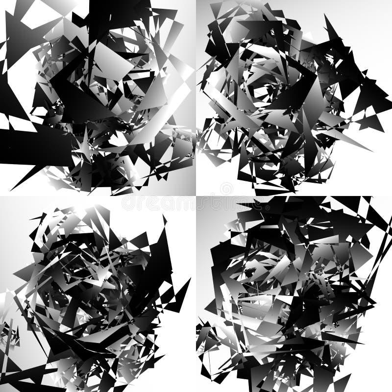 Download Grungy, нервная текстура с случайными элементами - абстрактное Illustratio Иллюстрация вектора - иллюстрации насчитывающей элементы, хаотическо: 81807212