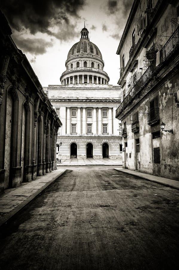 Grungy светотеневое изображение Гавана стоковая фотография rf
