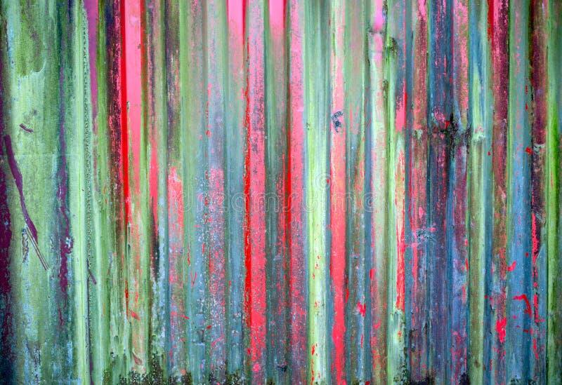 Grungy abstrakt metallisk behållarecloseup royaltyfri bild