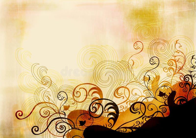 Grungy achtergrond stock illustratie