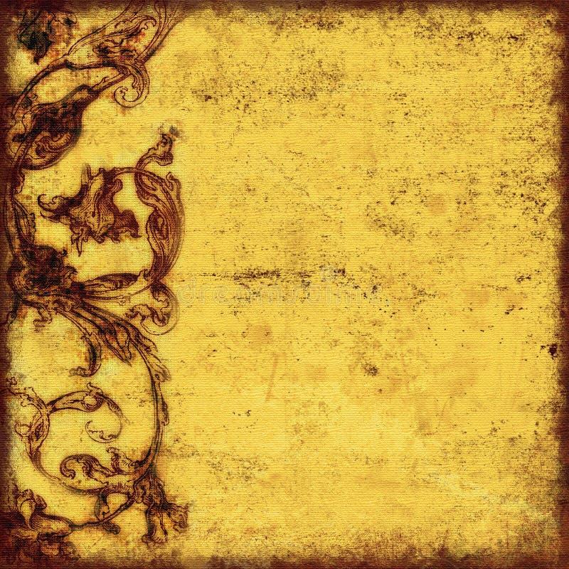 Grungy achtergrond royalty-vrije illustratie
