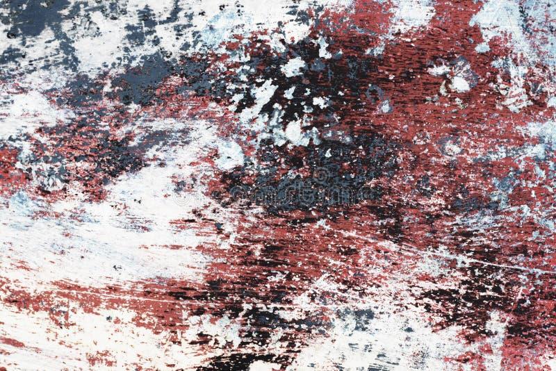 Grungy afgeschilferde verf stock fotografie
