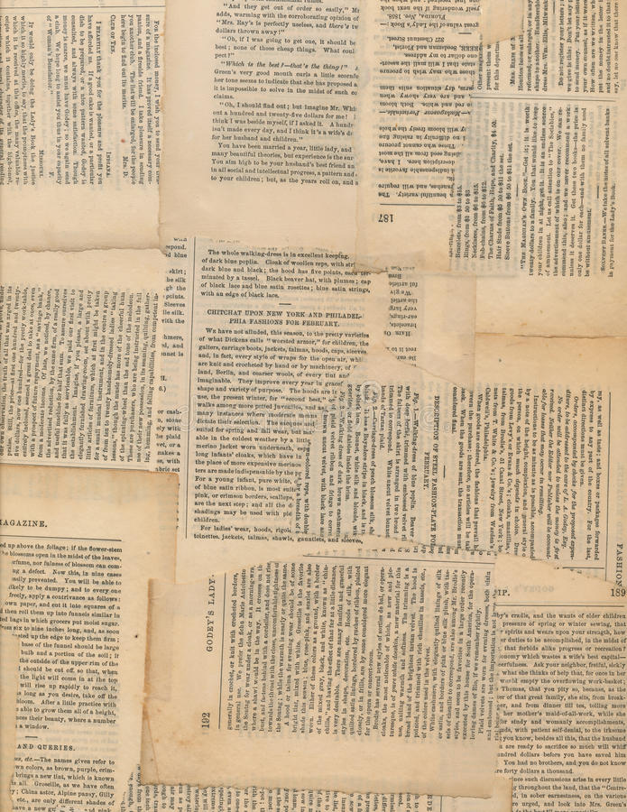 Grungy Antique newspaper paper collage stock photography
