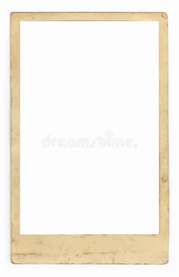 Download Grungy Antique Photo Frame stock image. Image of border - 12452383