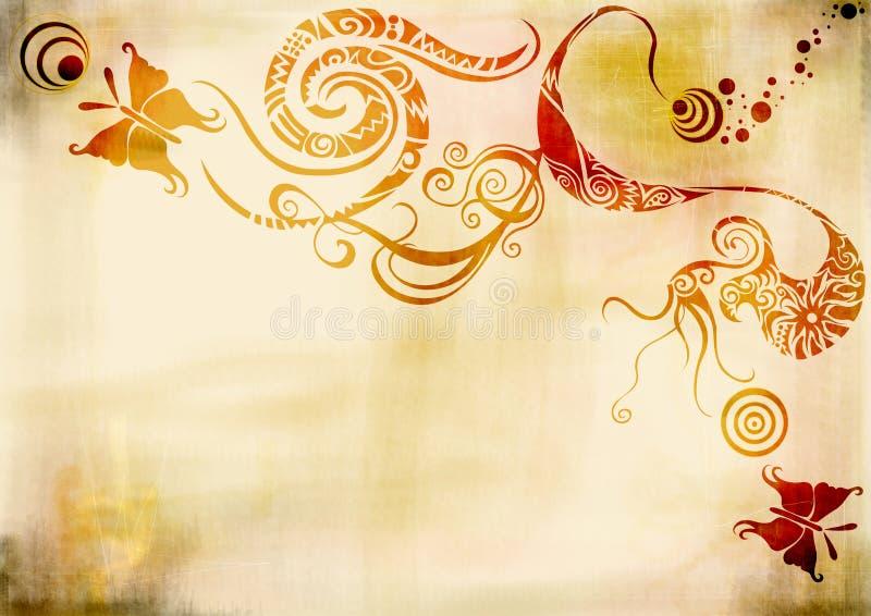 Grungy background royalty free illustration