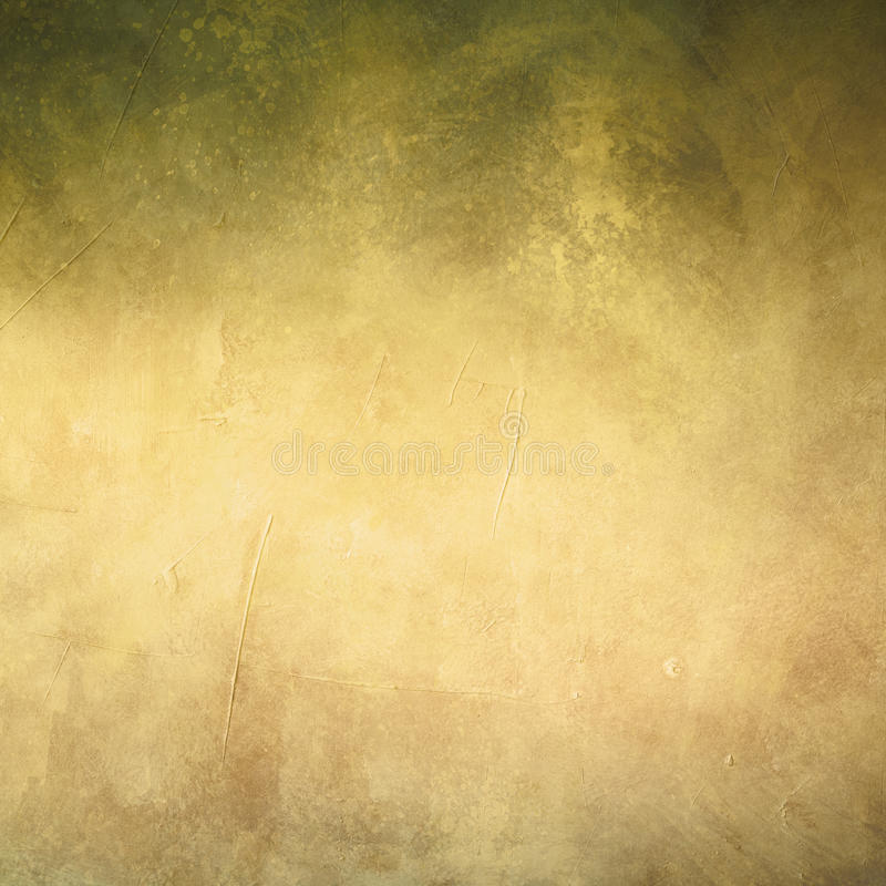 Grungy background. Golden colored grungy background or texture royalty free stock images