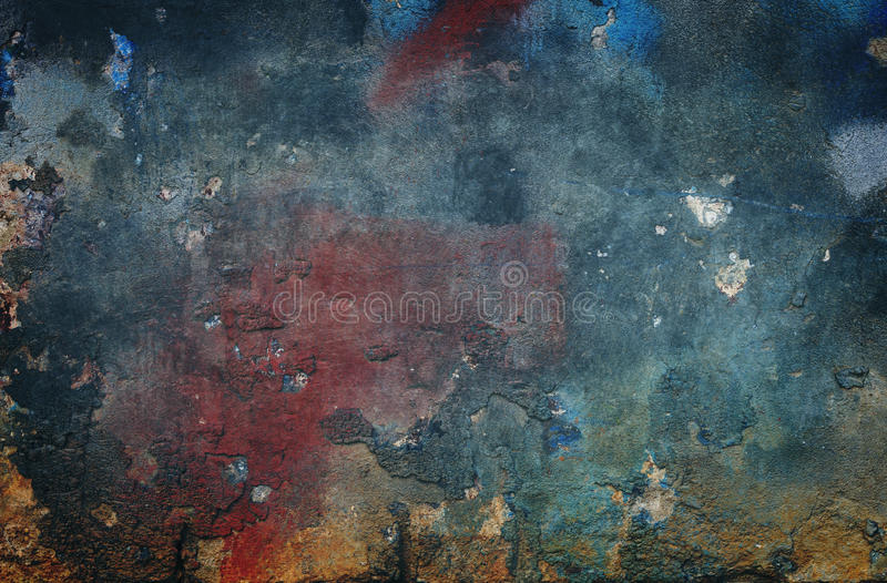 Grungy background. Old colored wall background or texture royalty free stock photography