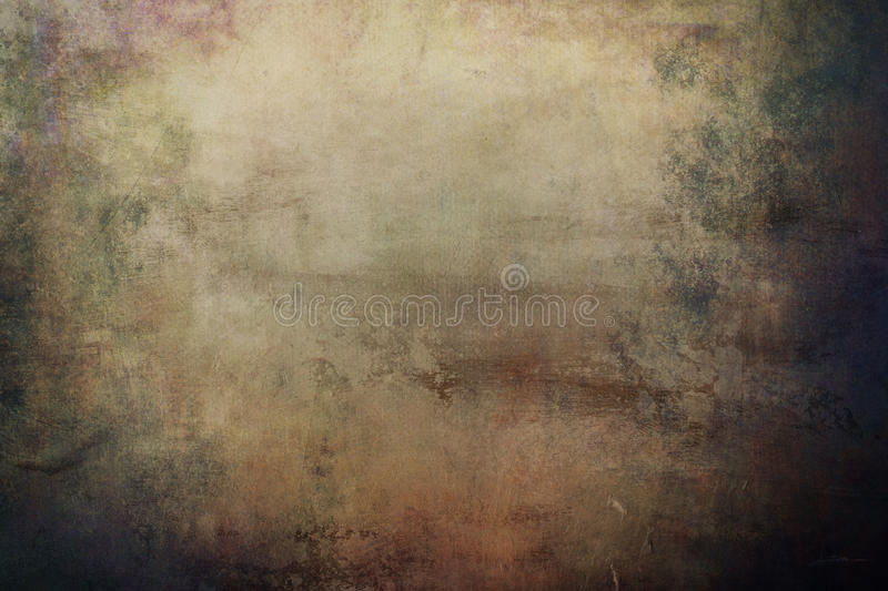 Grungy background. Old grungy background or texture with dark vignette borders stock images