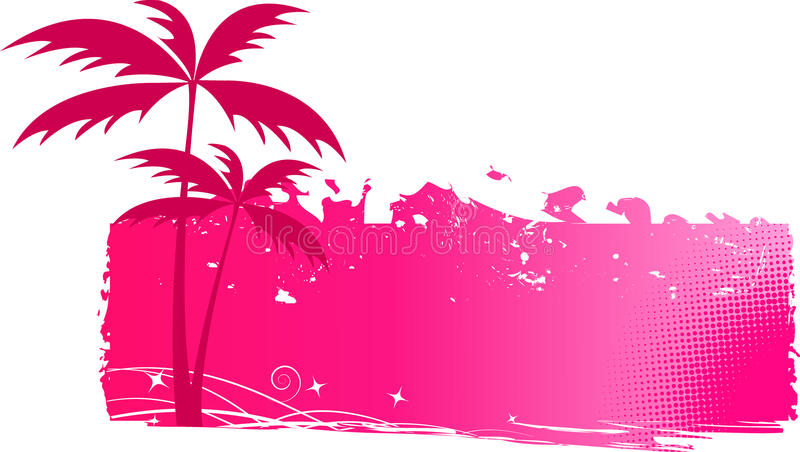 Download Grungy Background With Palm Trees Royalty Free Stock Images - Image: 10623189