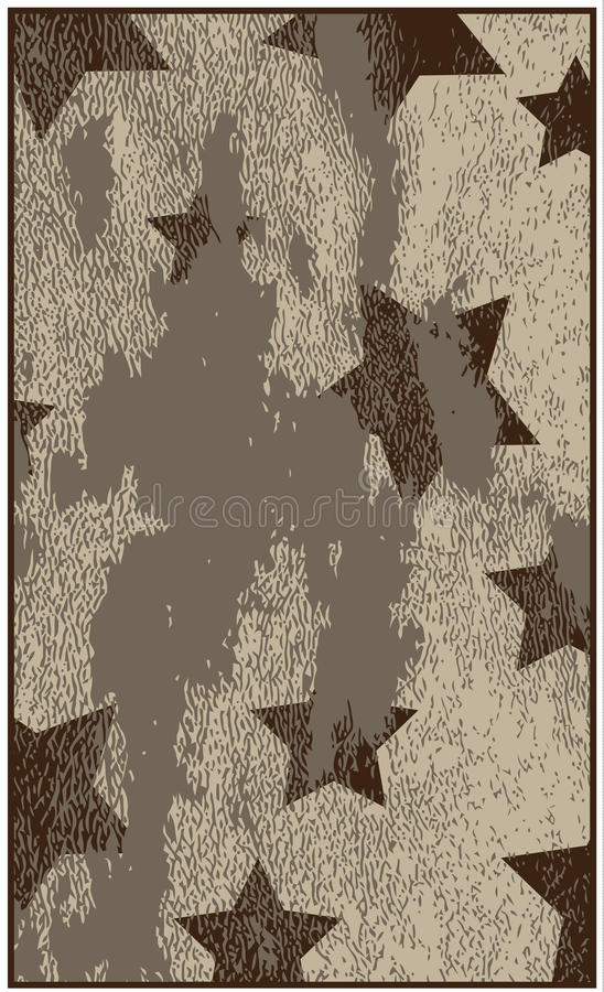 Download Grungy Background With Stars Stock Vector - Image: 19351664