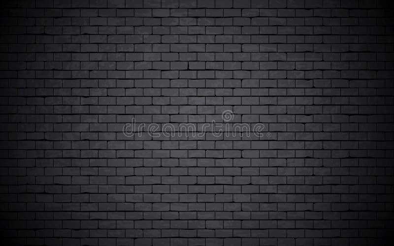 Grungy bakstenen muur. royalty-vrije illustratie