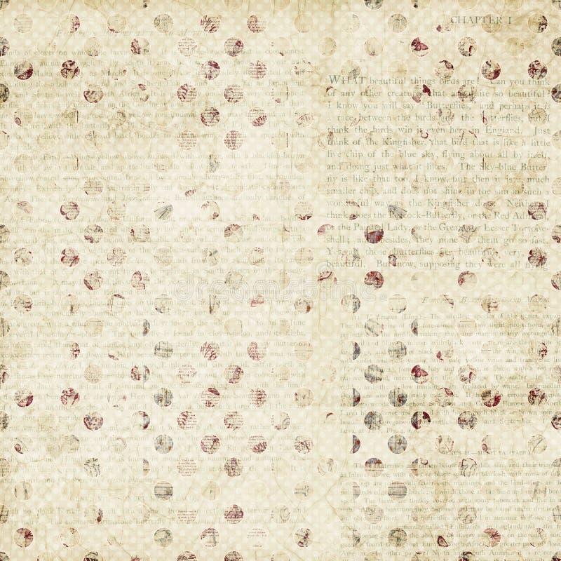 Grungy beige bruine bevlekte textuurachtergrond stock foto's