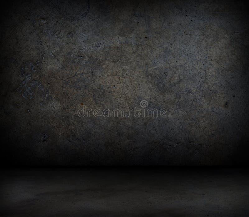 Grungy betongvägg stock illustrationer