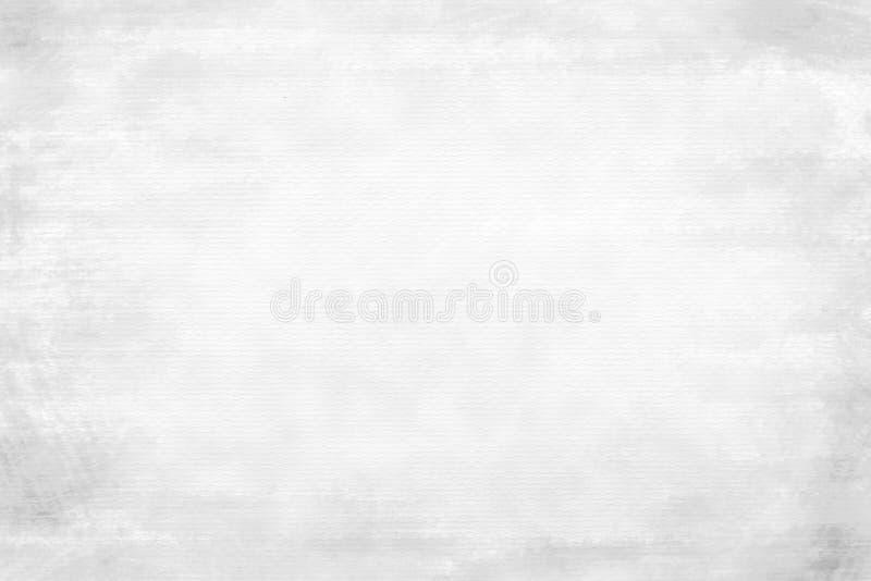 Grungy białego papieru tekstury tło fotografia royalty free