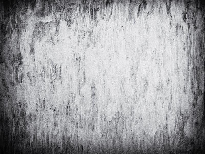 Grungy bielu muśnięcia farby tło z adrą fotografia royalty free