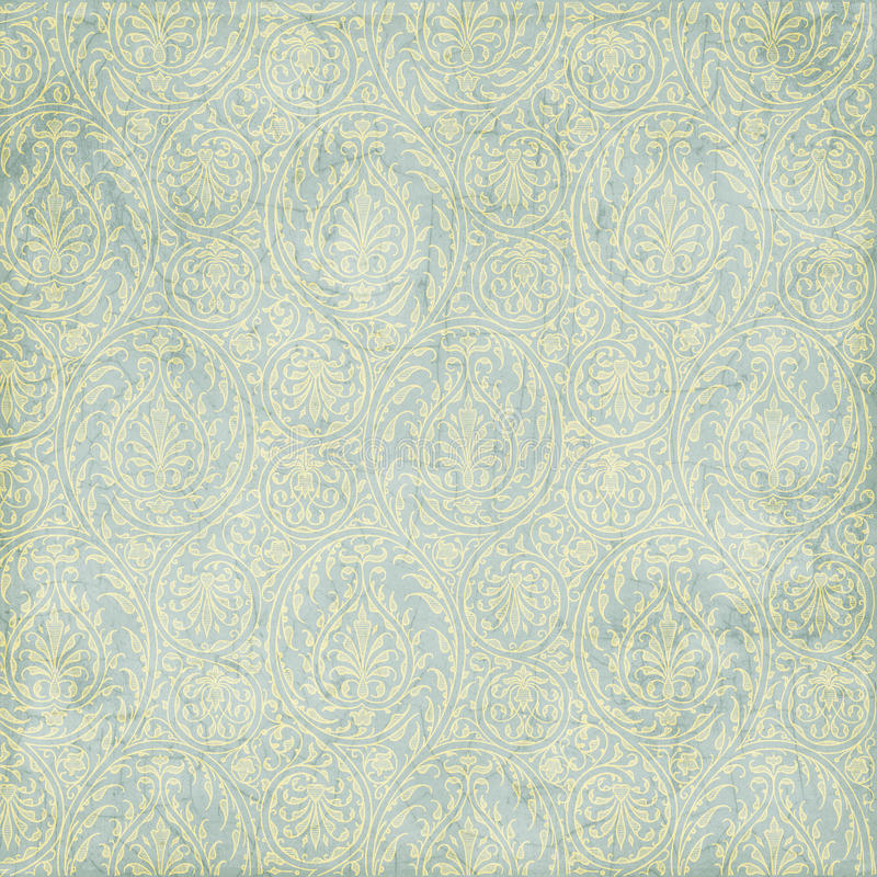 Free Grungy Blue Green Paisley Texture Background Royalty Free Stock Photography - 16287477
