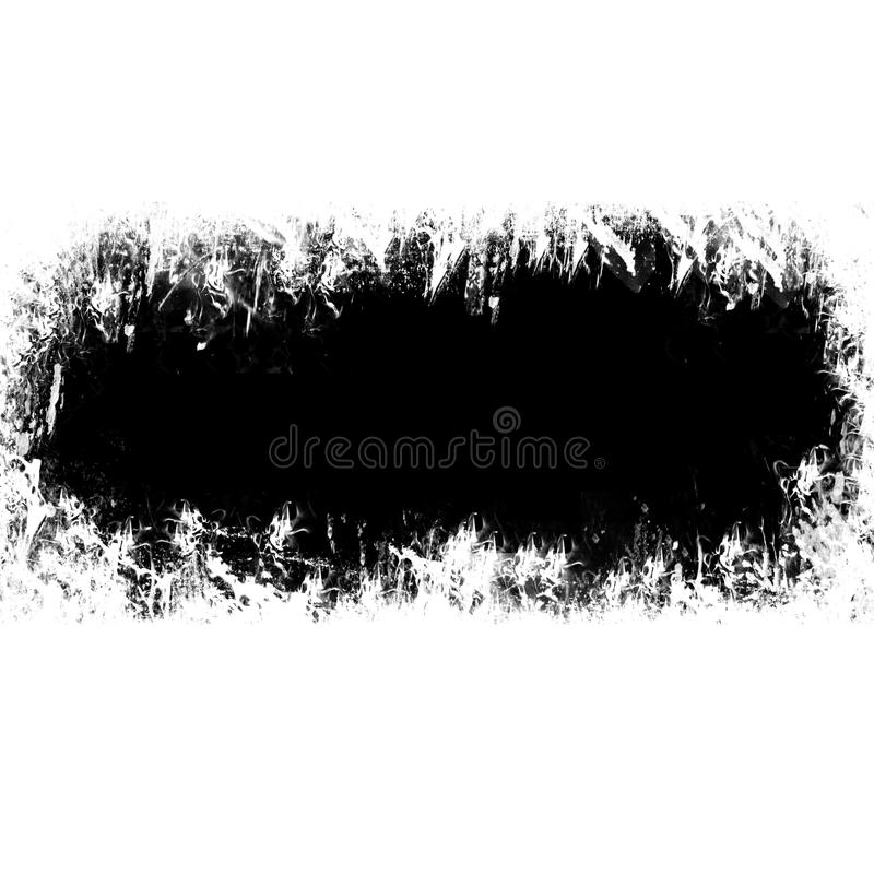 Grungy Border vector illustration