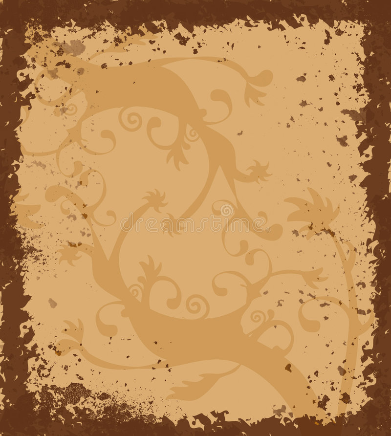 Download Grungy Border With Celtic Ornament Stock Illustration - Image: 509499