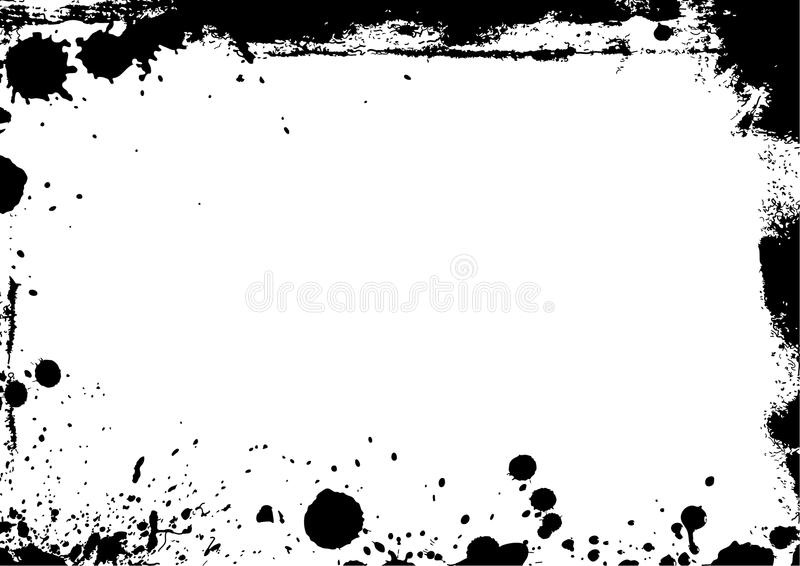 Grungy borders. Suitable for any design photo stock image