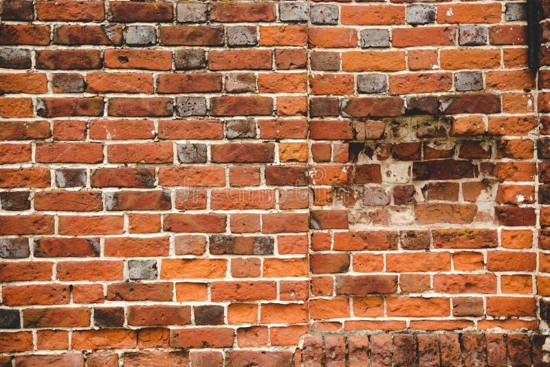 Grungy breites Brickwall stockfotos