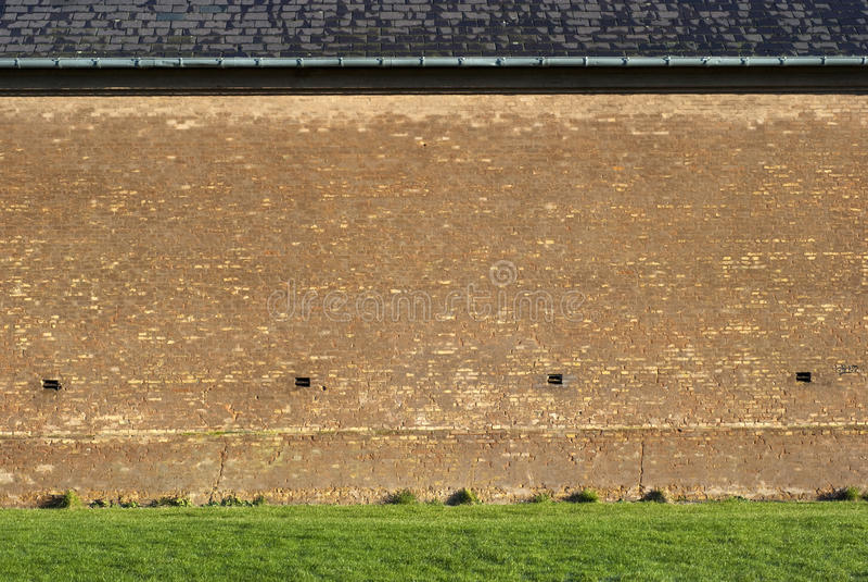 Grungy brick wall royalty free stock images