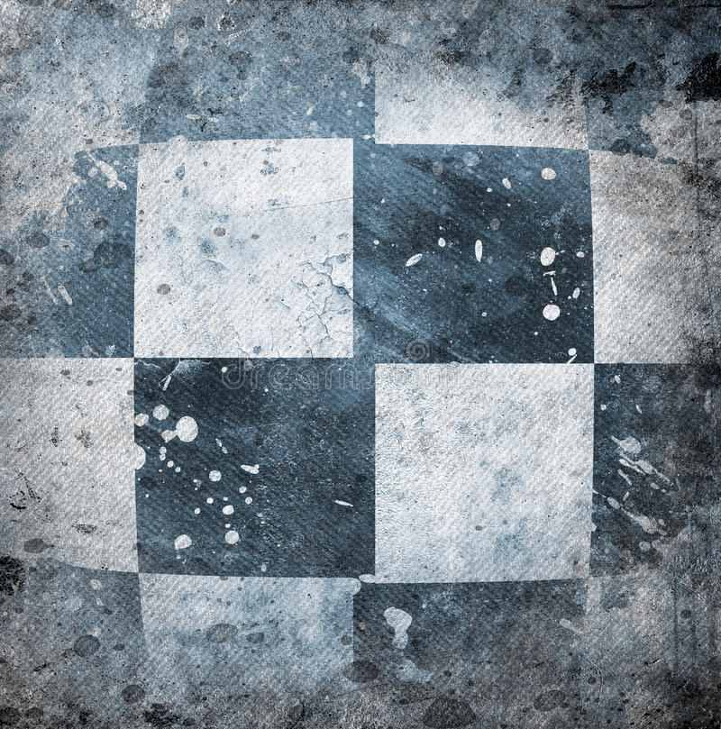 Download Grungy Chessboard Background Stock Illustration - Image: 33325361