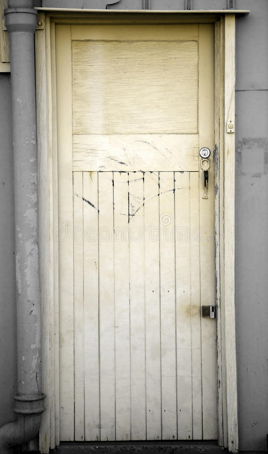 Grungy Door Royalty Free Stock Photo