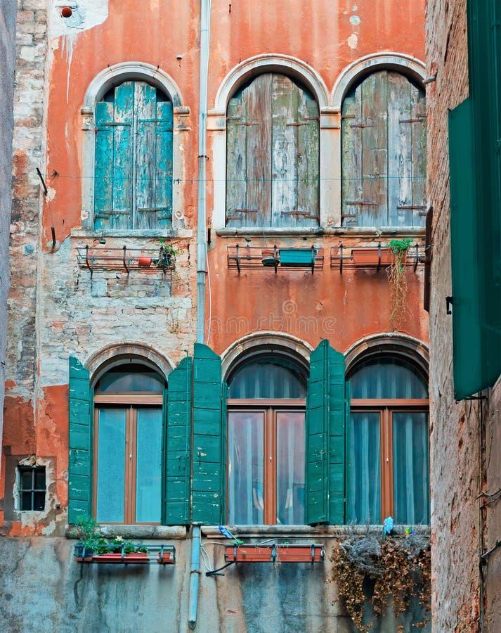 Grungy Fenster stockbild
