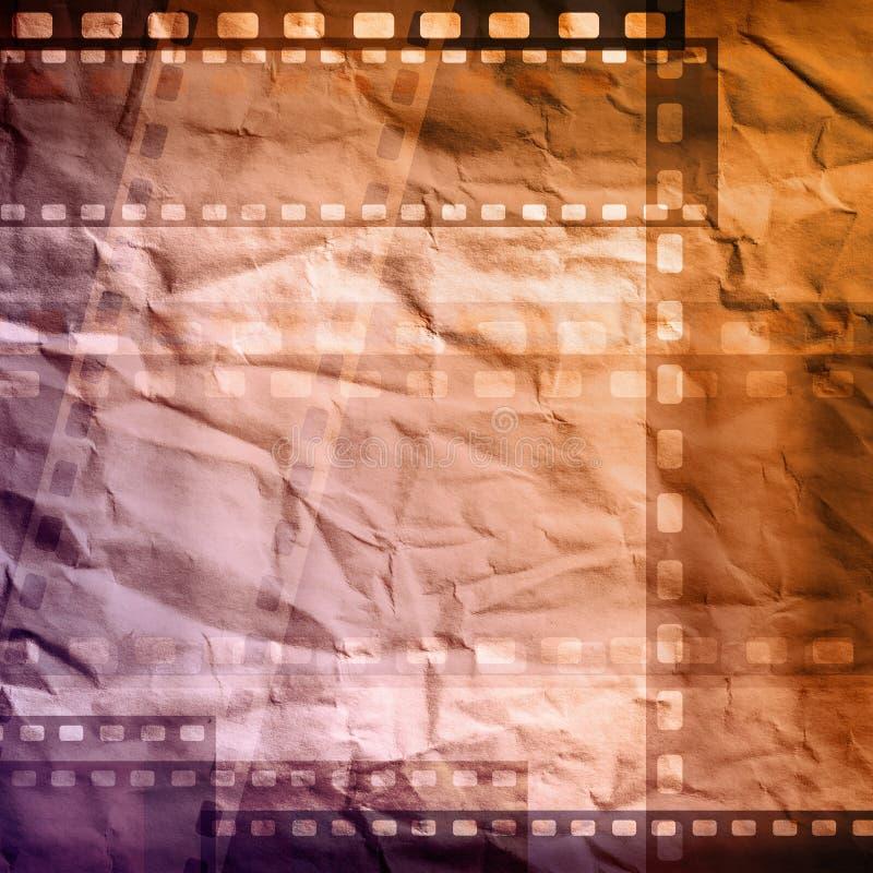 Grungy film royalty-vrije illustratie