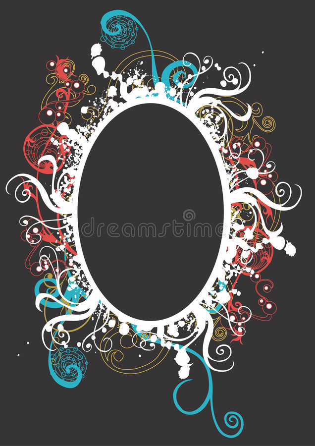 Download Grungy frame stock vector. Image of ornamental, background - 3798032