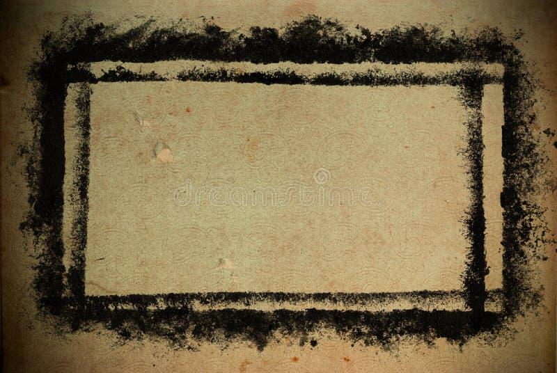 Grungy frame vector illustratie