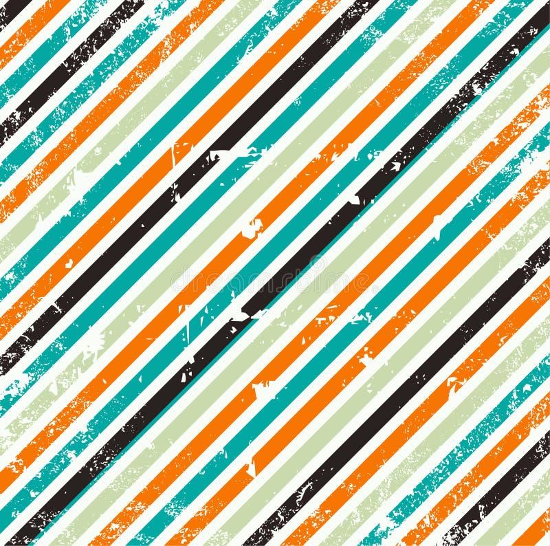 Grungy geometrische Hintergrundabbildung vektor abbildung