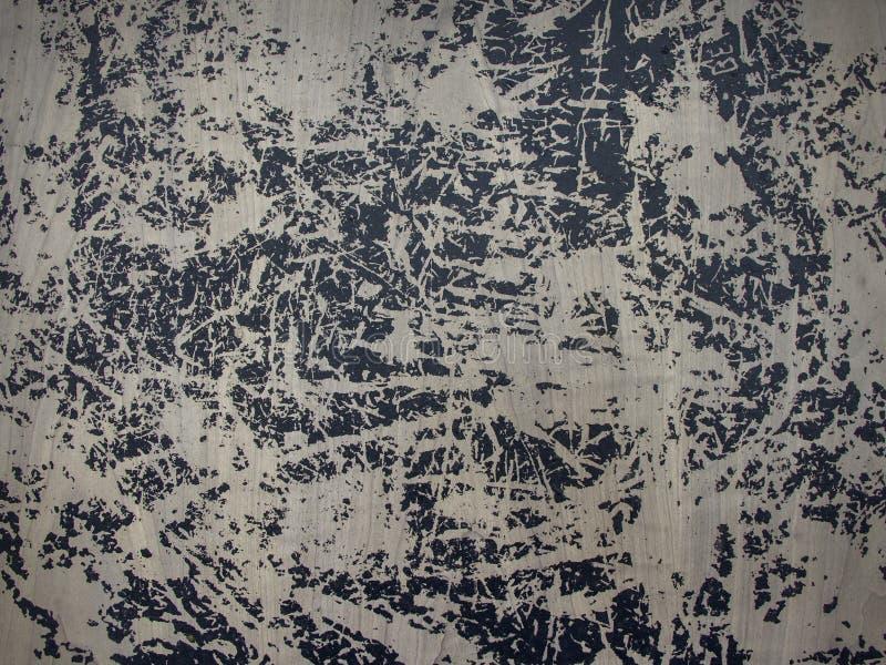 Grungy geschilderde textuur van de lijstoppervlakte als achtergrond Ruimte voor tekst stock foto's