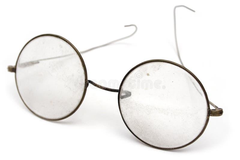 grungy glasögon fotografering för bildbyråer