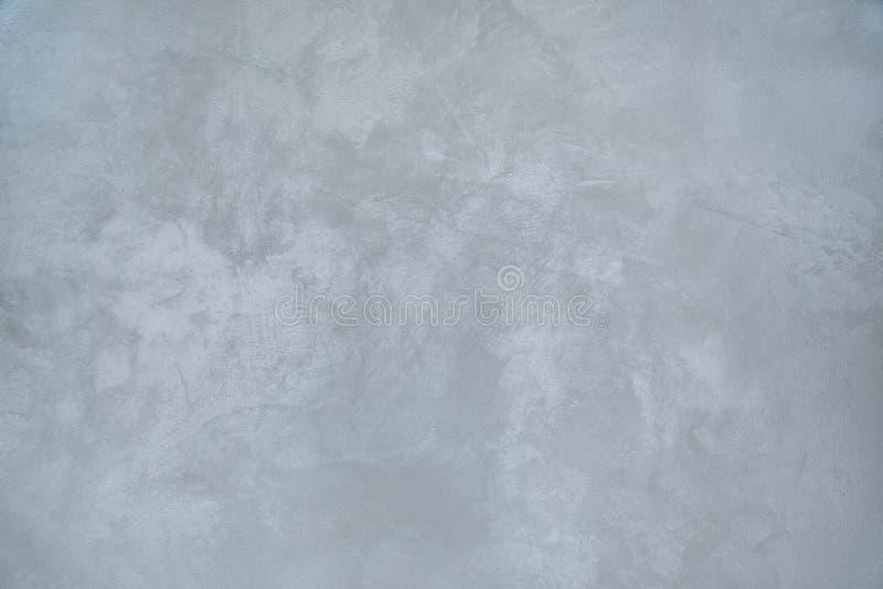 Grungy grau-blauer Hintergrund des dekorativen Gipses lizenzfreies stockfoto