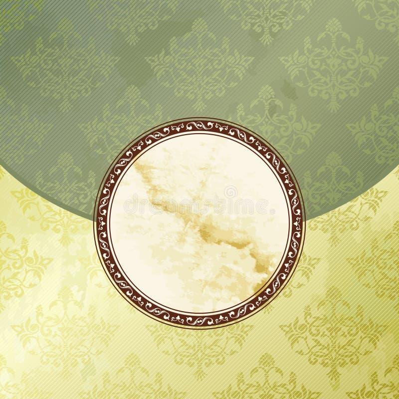 Download Grungy Green Victorian Vintage Emblem Stock Vector - Illustration: 20771855