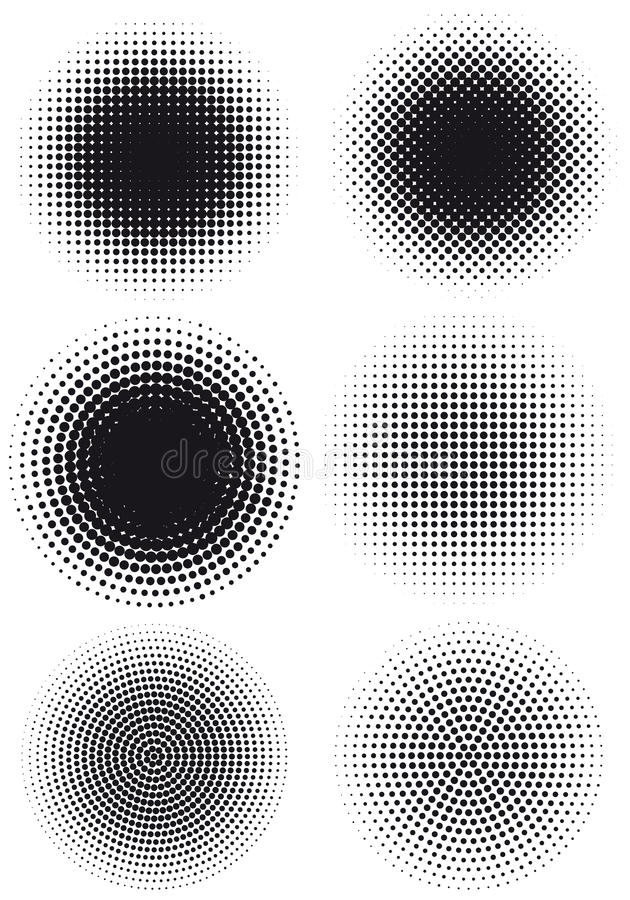 Free Grungy Halftone Dots Stock Photo - 17360360